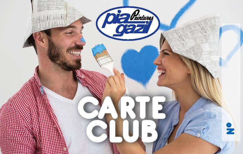 Carte club PIA GAZIL